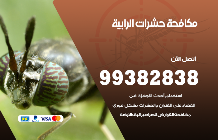 مكافحة حشرات الرابية