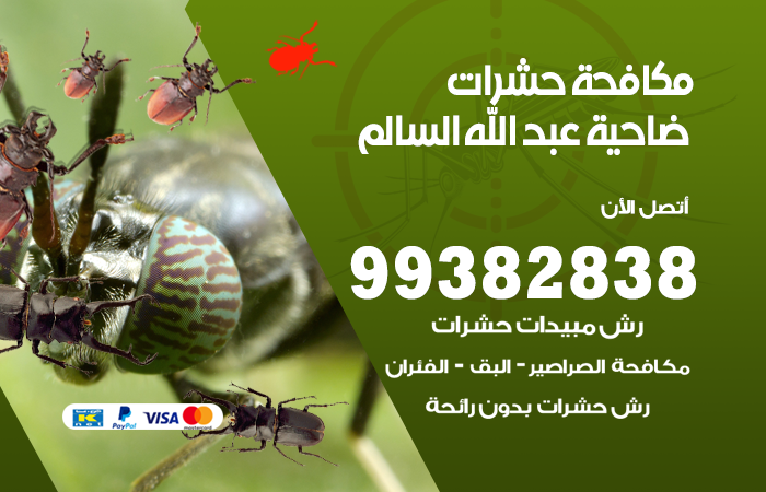 مكافحة حشرات ضاحية عبد الله السالم