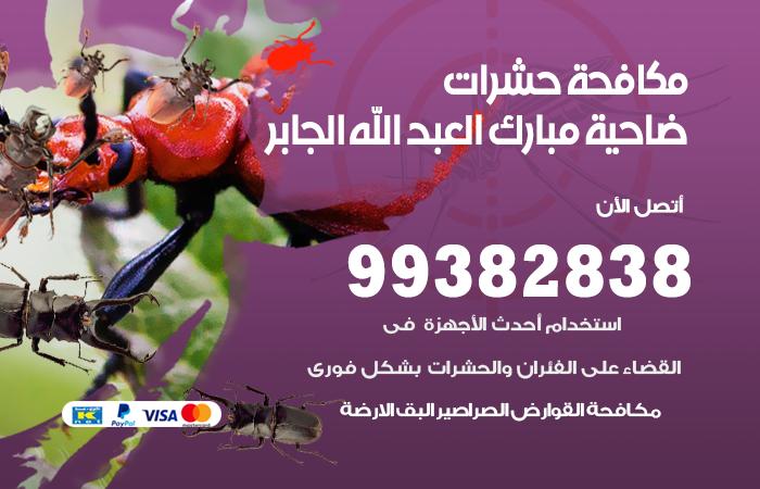مكافحة حشرات ضاحية مبارك العبد الله الجابر