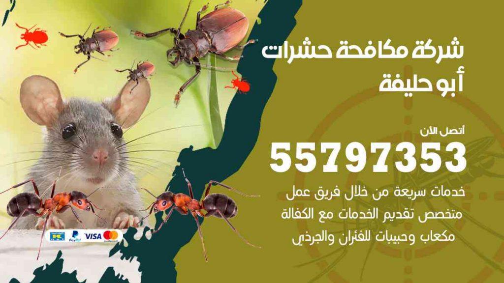 شركة مكافحة حشرات وقوارض أبوحليفة