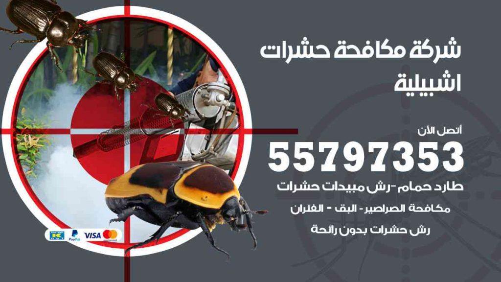 شركة مكافحة حشرات وقوارض اشبيلية
