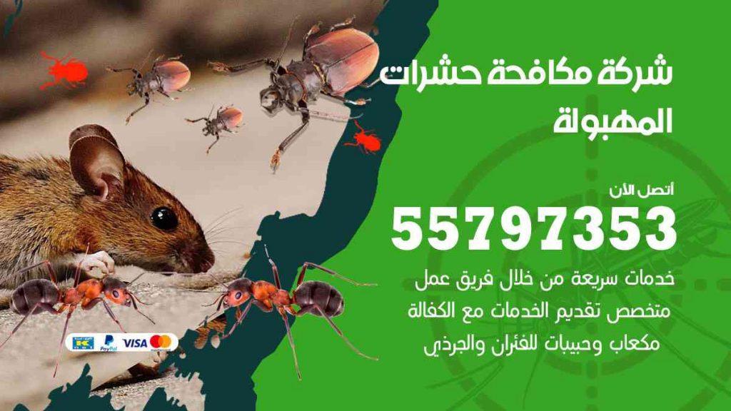 شركة مكافحة حشرات وقوارض المهبولة
