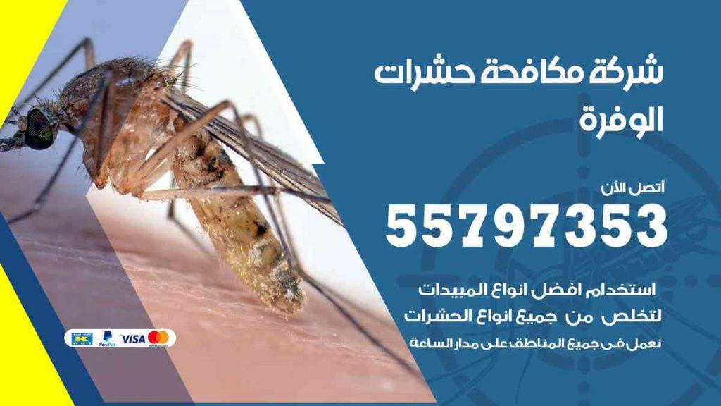 شركة مكافحة حشرات وقوارض الوفرة