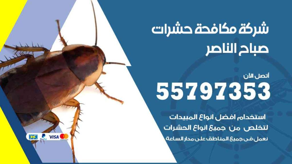 شركة مكافحة حشرات وقوارض صباح الناصر