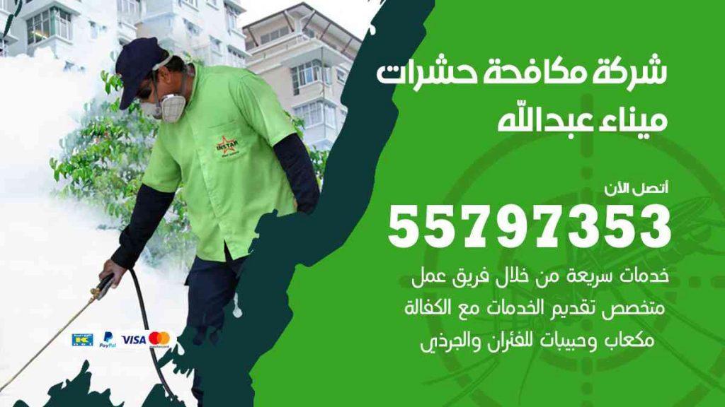 شركة مكافحة حشرات وقوارض ميناء عبدالله